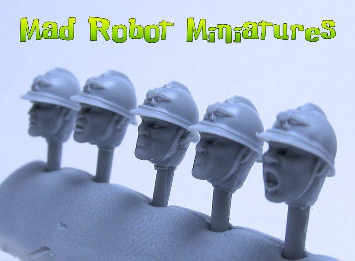 Adrian Helmet Heads [HH-45] - $4 49 : Mad Robot : We Likey