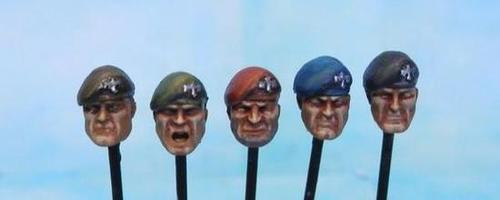 Painted Beret Heads