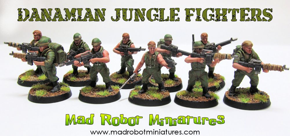 DaNamian Jungle Fighters
