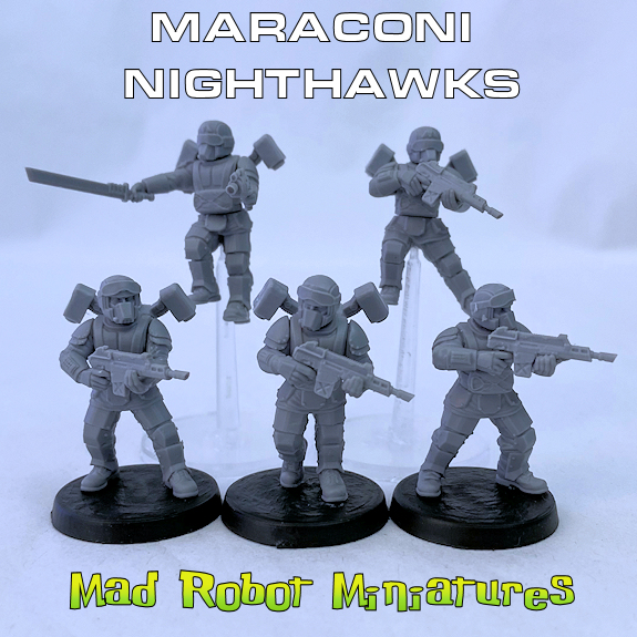 Maraconi Nighthawks - Landing Fire Team