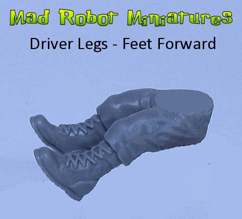 Driver Legs - Feet Forward