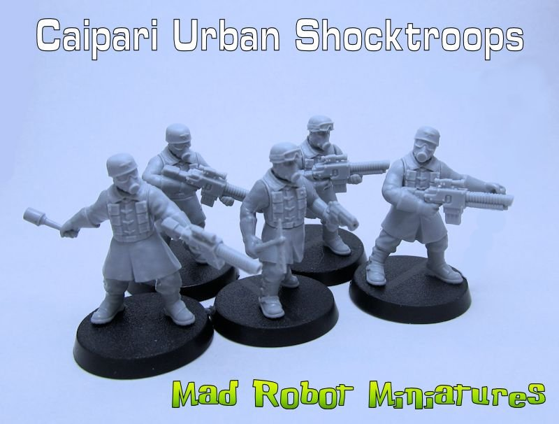 Caipari Urban Shocktroops
