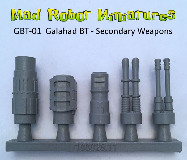Galahad Battle Tank - Secondary Turret Weapons