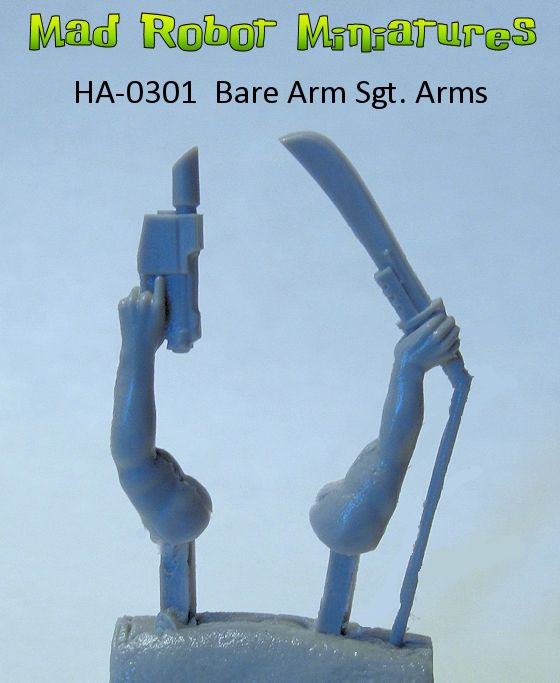 Bare Arm - Officer Arms