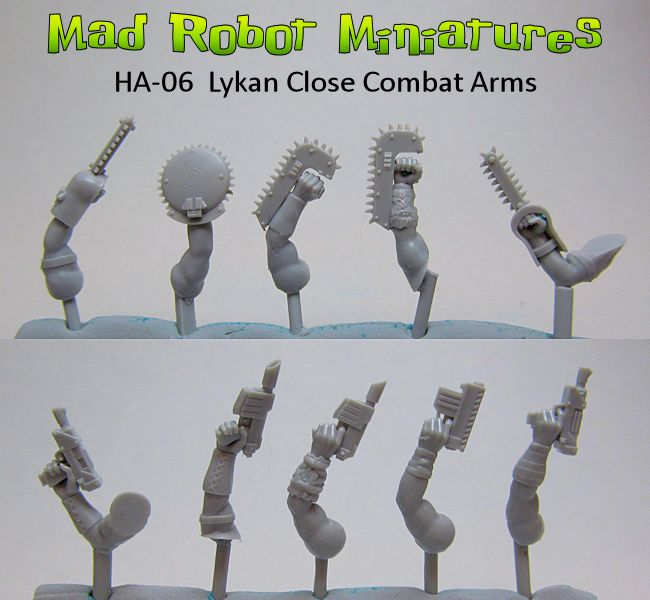 Lykan Close Combat Arms