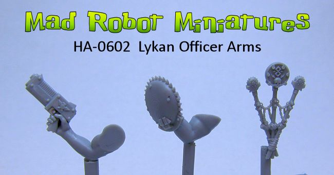 Lykan Officer Arms