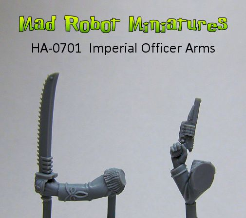 Imperial Officer Arms