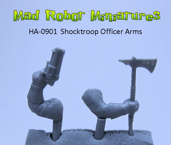 Shocktroop Officer Arms