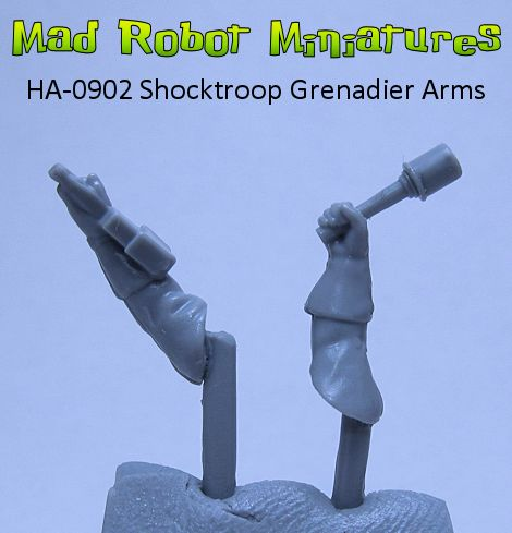Shocktroop Grenadier Arms
