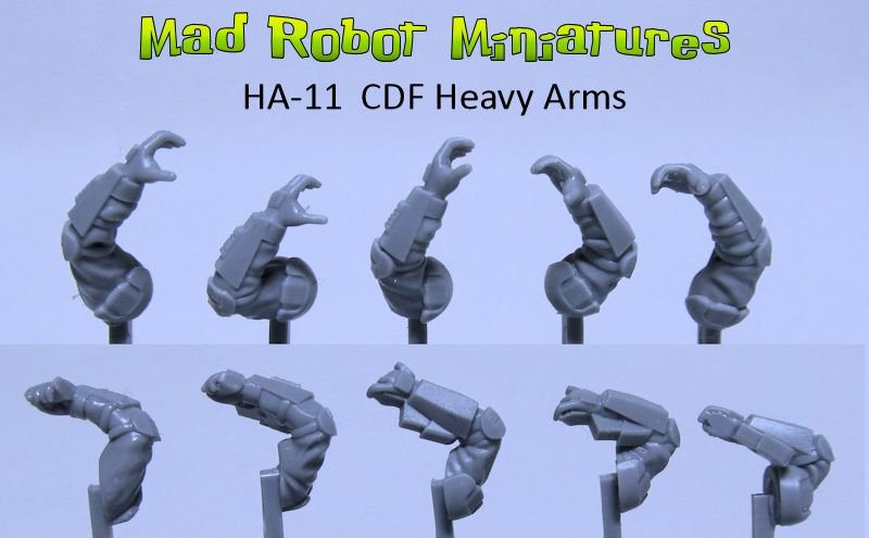 CDF Heavy Arms
