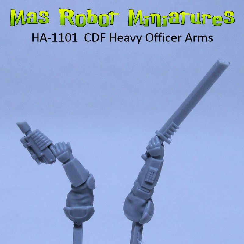 CDF Heavy Officer Arms
