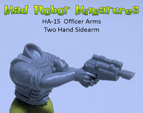 Officer Arms - Two Hand Sidearm