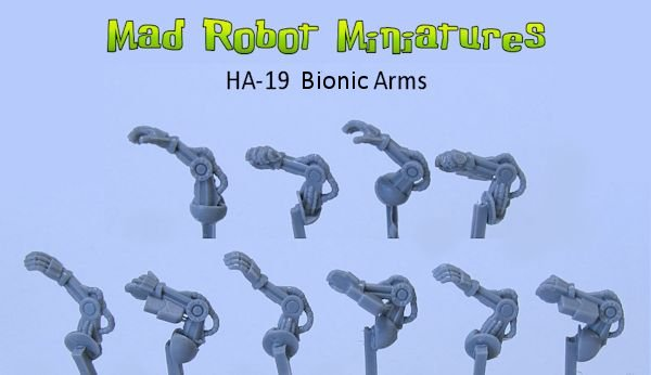 Bionic Rifle Arms