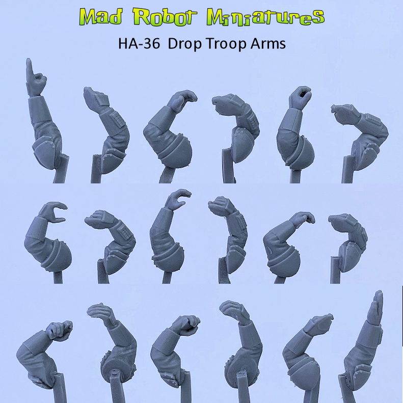 Robed Rifle Arms