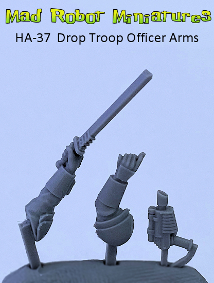 Drop Troop Officer Arms