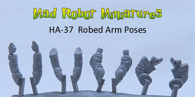 Robed Arm Poses