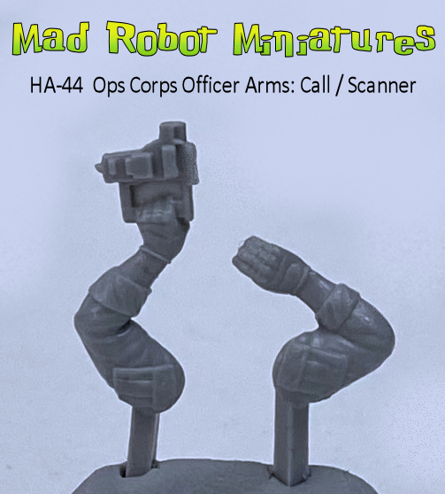 Ops Corps Officer Arms : Call / Scanner