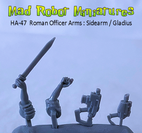Roman Officer Arms : Sidearm - Gladius