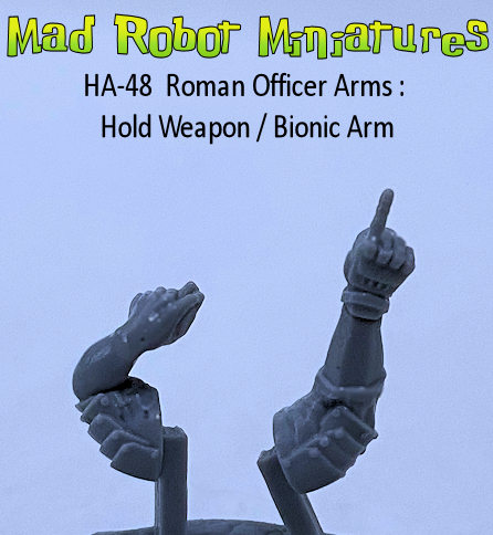 Roman Officer Arms : Bionic Arm - Hold Weapon