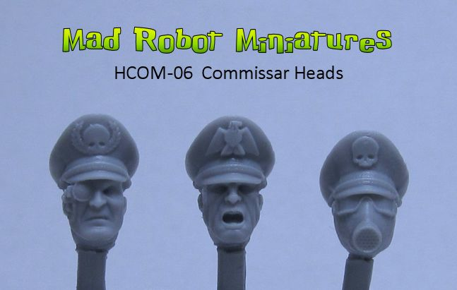 Commissar Heads