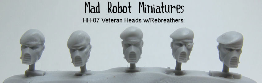Veteran Heads w/ Respirators