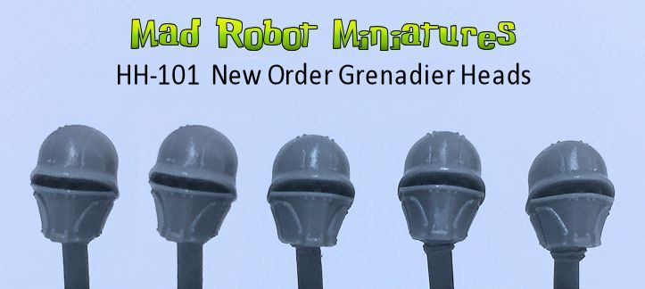 New Order Grenadier Heads