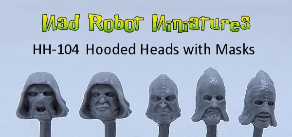 Hooded Heads with Masks