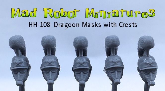 Dragoon Masks with Crests