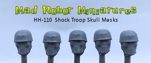 Shocktroop Skull Masks