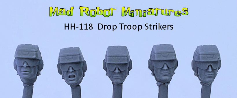 Drop Troop Striker Heads
