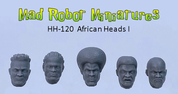African Heads I