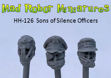 Sons of Silence Officer Heads