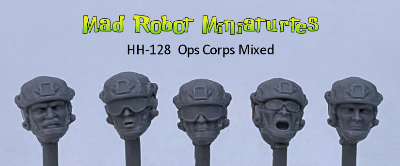 Ops Corps - Mixed heads