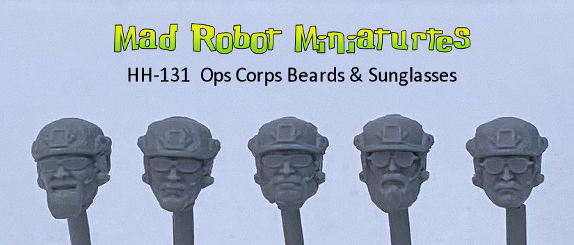 Ops Corps - Beards & Sunglasses