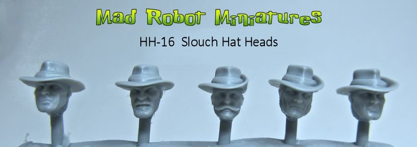 Slouch Hat Heads