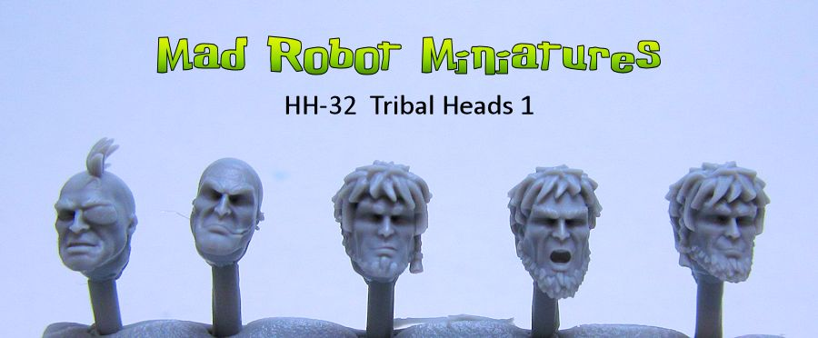 Lykan Tribal Heads 1