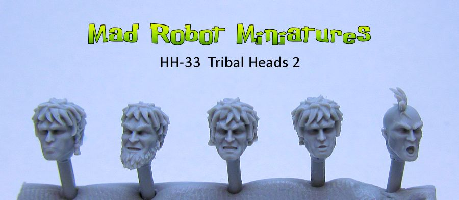 Lykan Tribal Heads 2