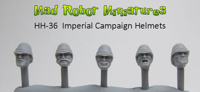 Imperial Campaign Helmets