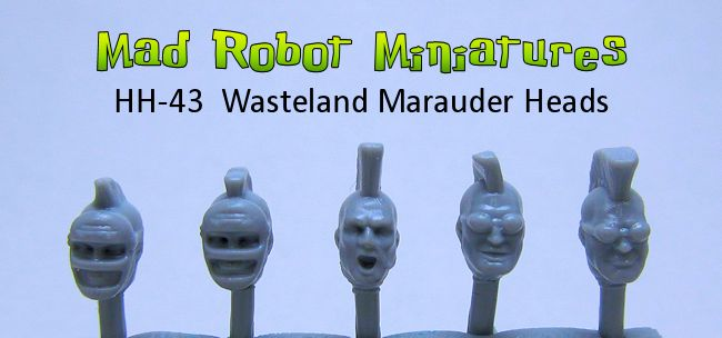 Wasteland Raider Heads