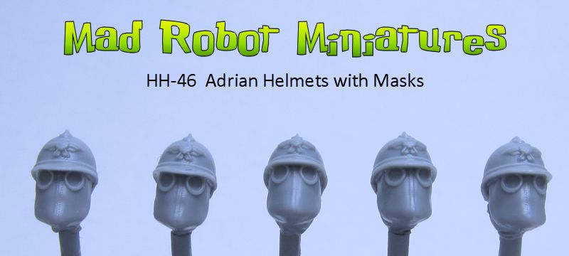 Adrian Helmets with Masks