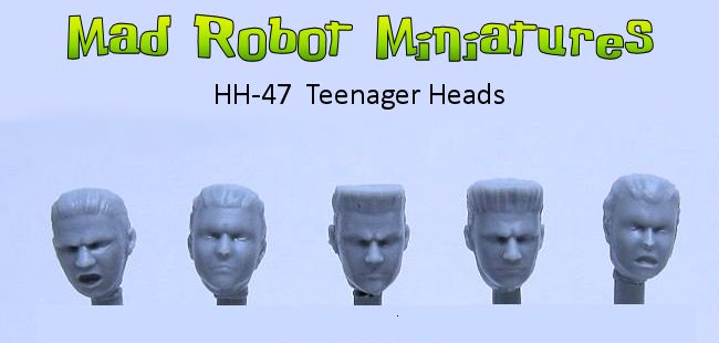 Teenager Heads