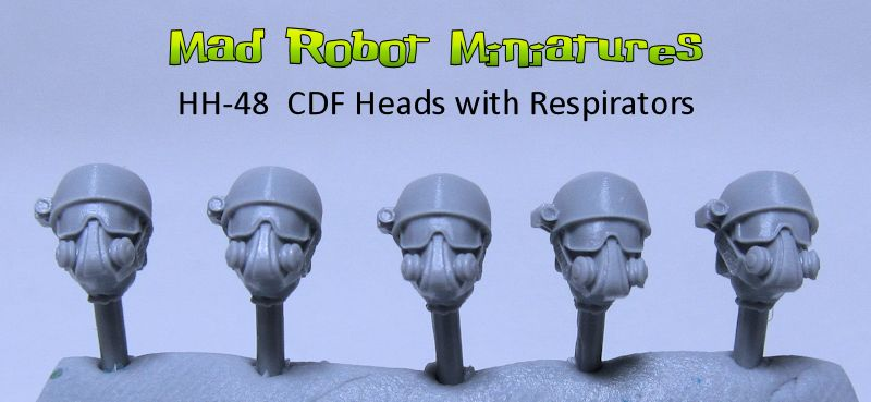 CDF Heads with Masks