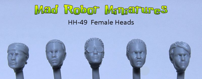 Female Heads I