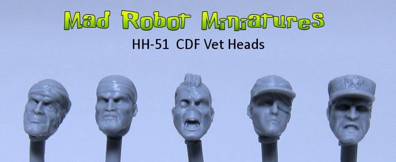CDF Veteran Heads
