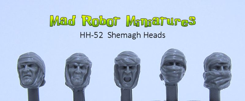Shemagh Heads