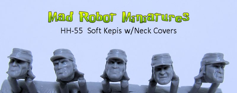 Soft Kepis w/ Neck Covers