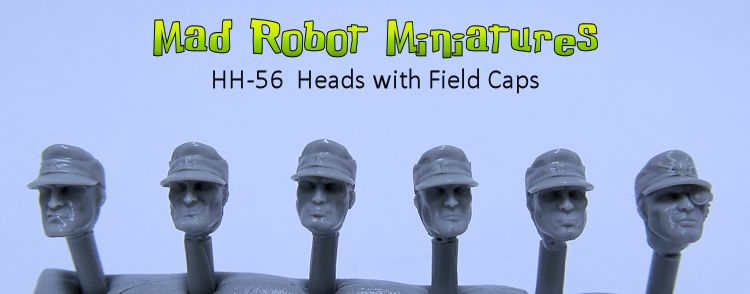 Heads with Field Caps