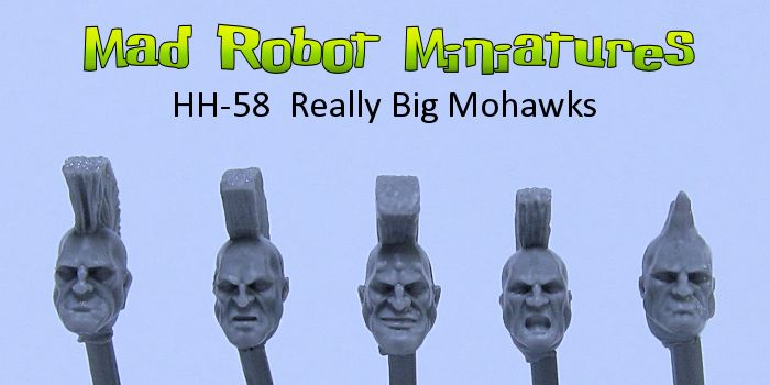 Really Big Mohawks