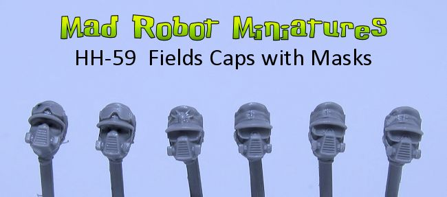 Field Caps with Masks
