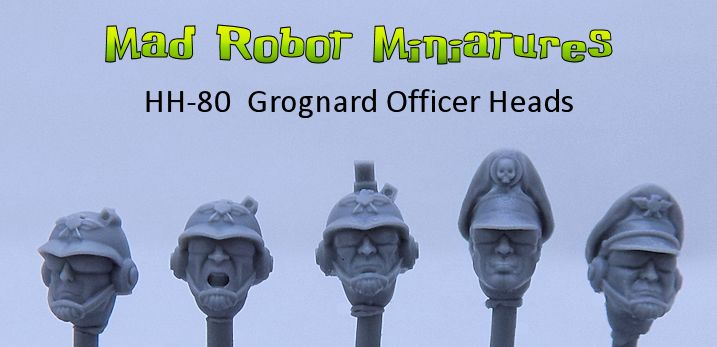 Grognard Officer Heads